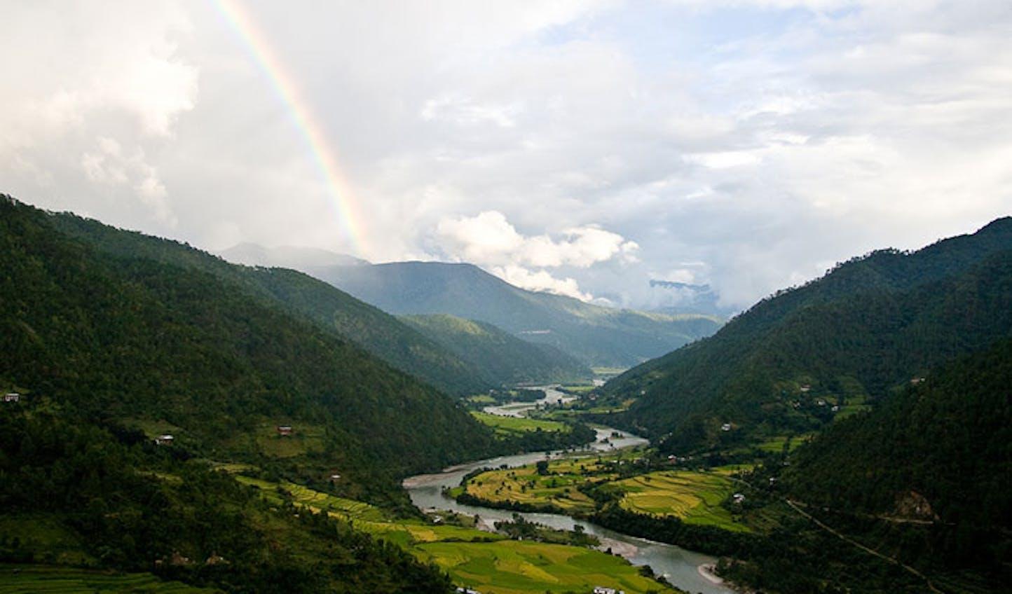 valley bhutan
