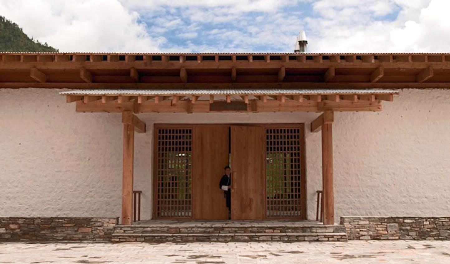 luxury lodge bhutan