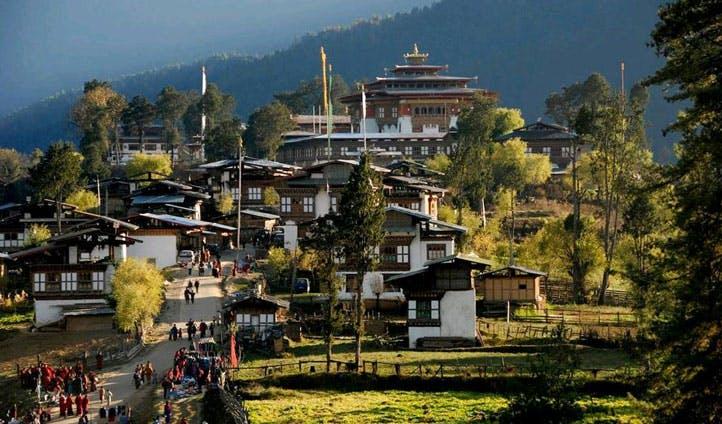 bhutan monestry