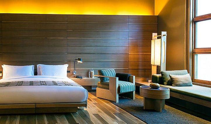 luxury hotel lodge room