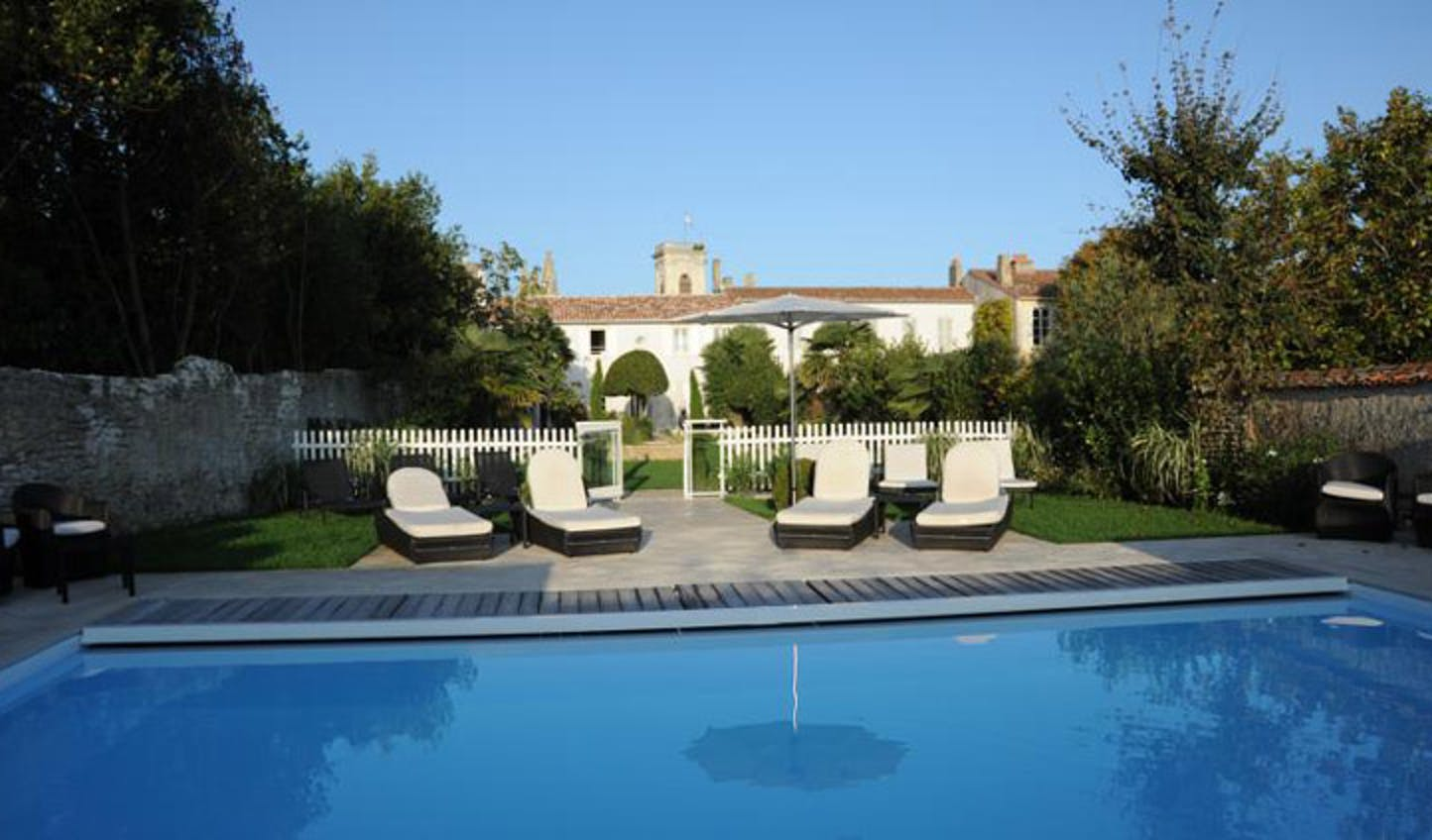 boutique hotel pool