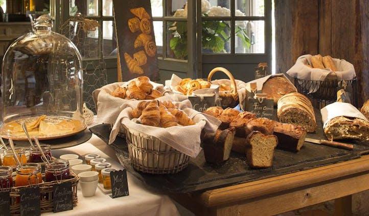 france hotel breakfast