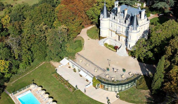 france luxury pool