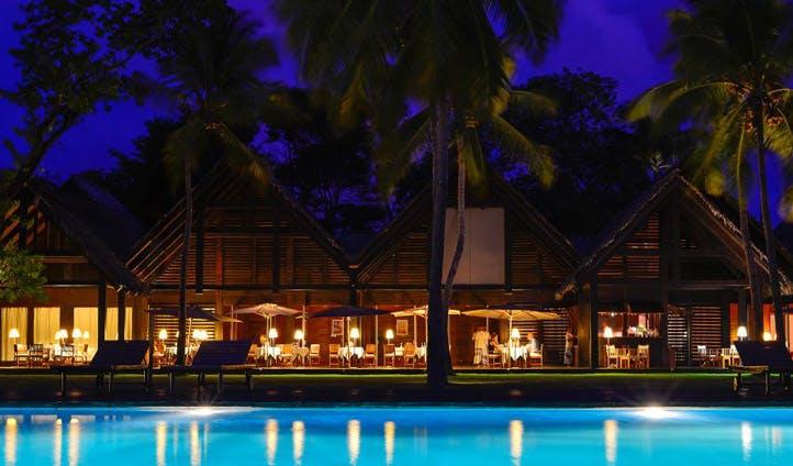 pool luxury hotel