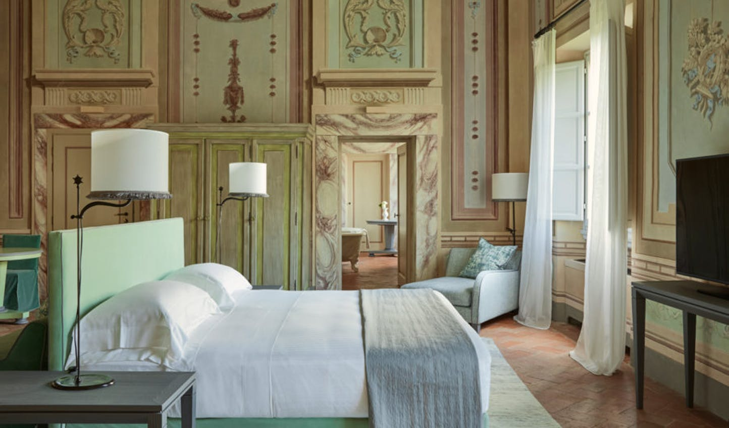 Sumptuous Italian living at COMO Castello del Nero