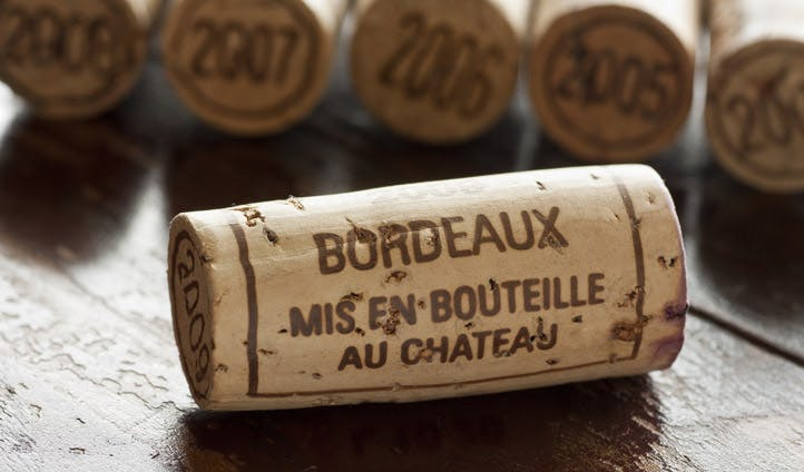Bordeaux cork