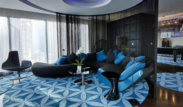 The W Hotel suites, Doha