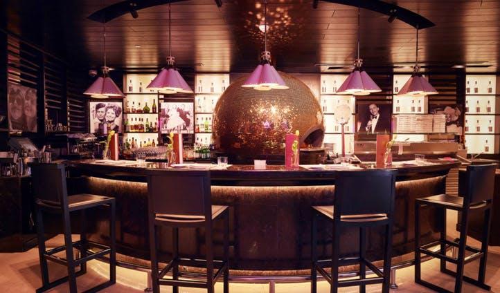 The bar at The W Hotel, Doha