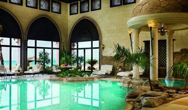 The pool at Sharq Resort & Spa