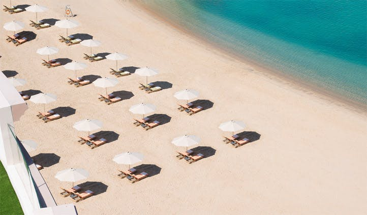 Kempinski Doha's private beach