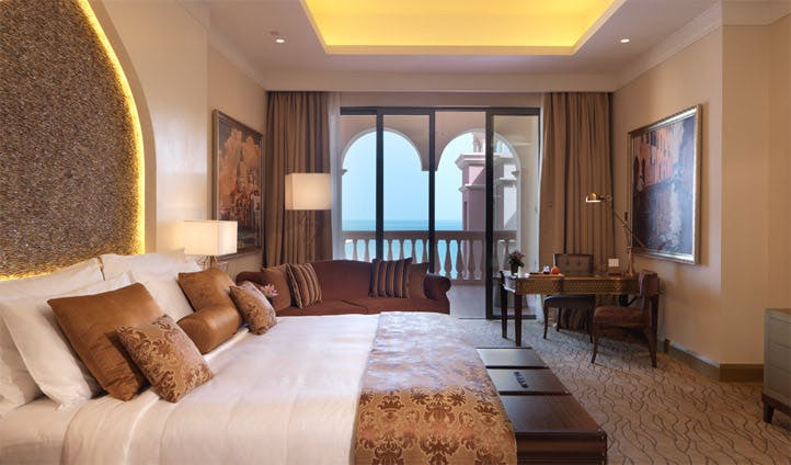 A room at the Kempinski Doha