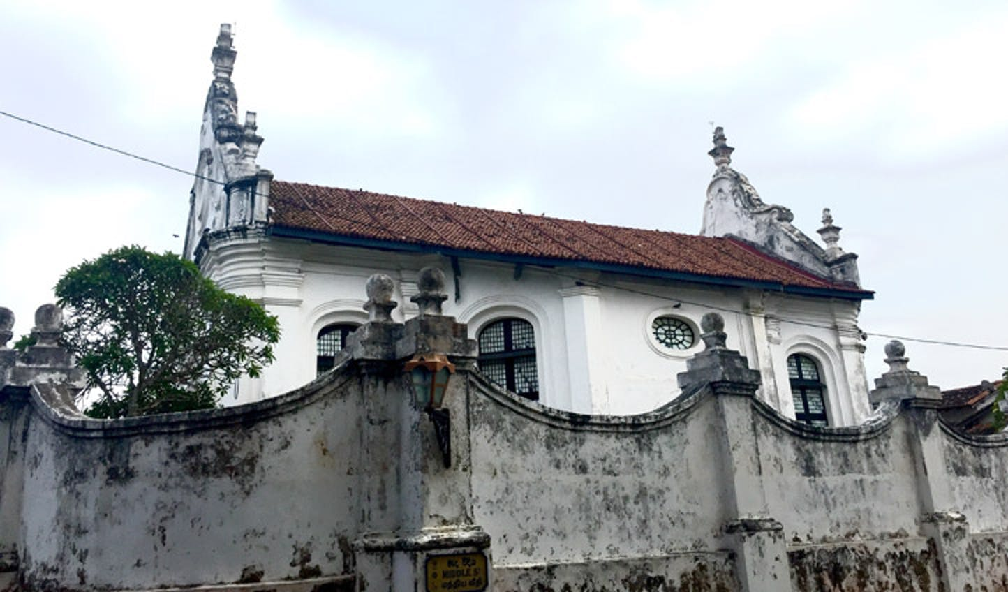 Colonial reminders abound in Sri Lanka