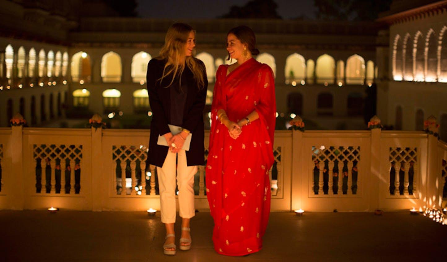 Serena visited India last year