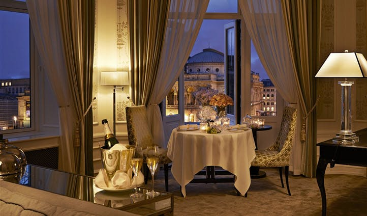 Private Dinner, Hotel d'Angleterre | Black Tomato