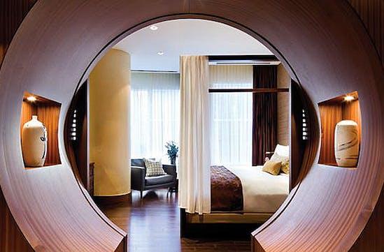 A suite at the Shangri-La, Toronto