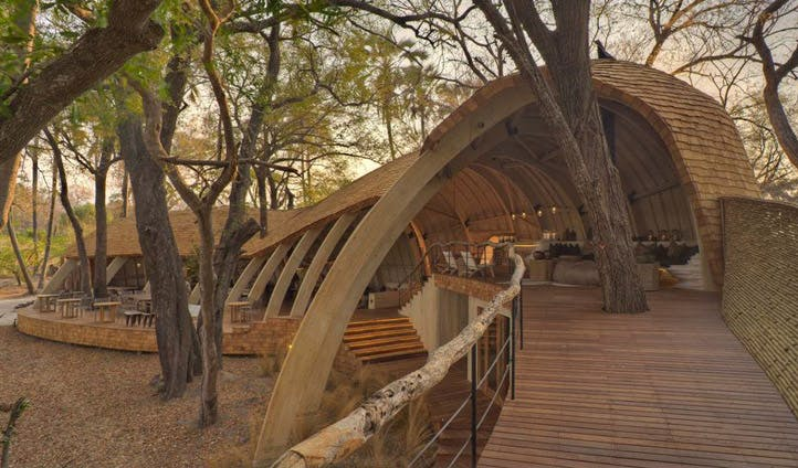 Main lodge, Sandibe Camp | Black Tomato