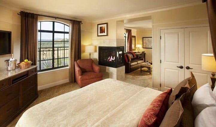 A suite at The Meritage Resort & Spa, Napa Valley