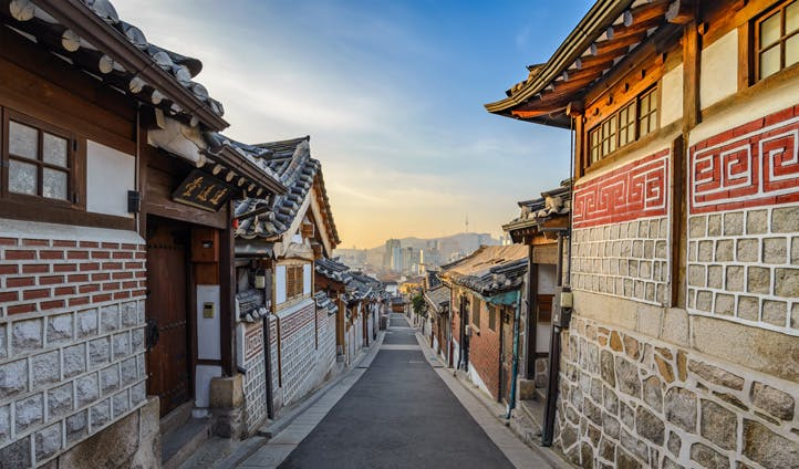 Houses in Seoul