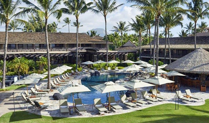 The pool at Ko'a Kea, Kauai