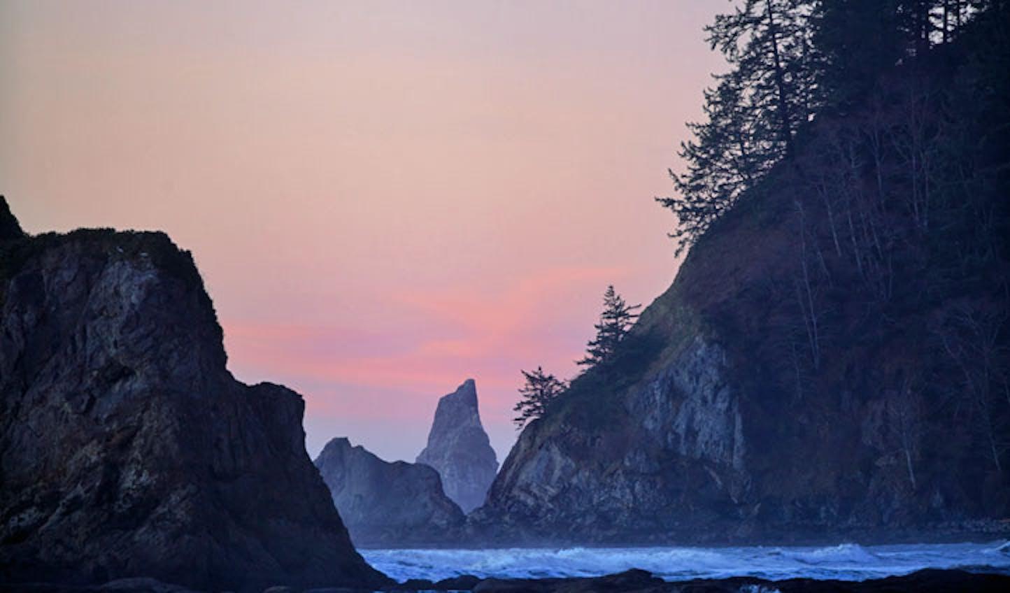 A beach in Washington State