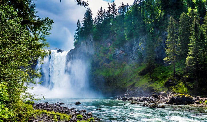 Waterfalls in Washington State