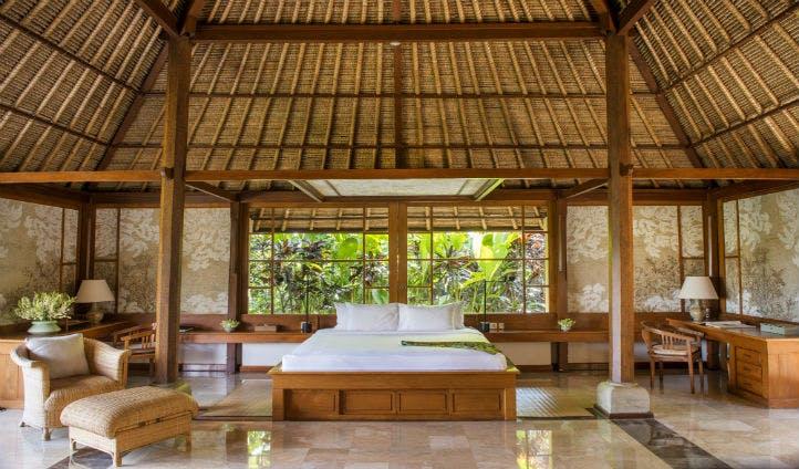 Luxury rooms at Amandari Bali