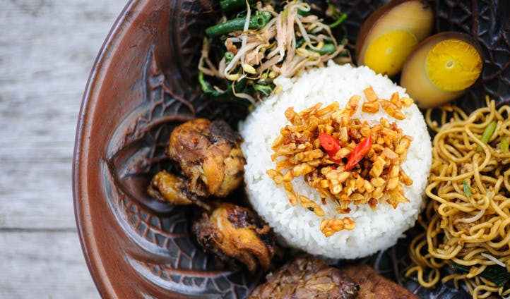 Fresh Indonesia food