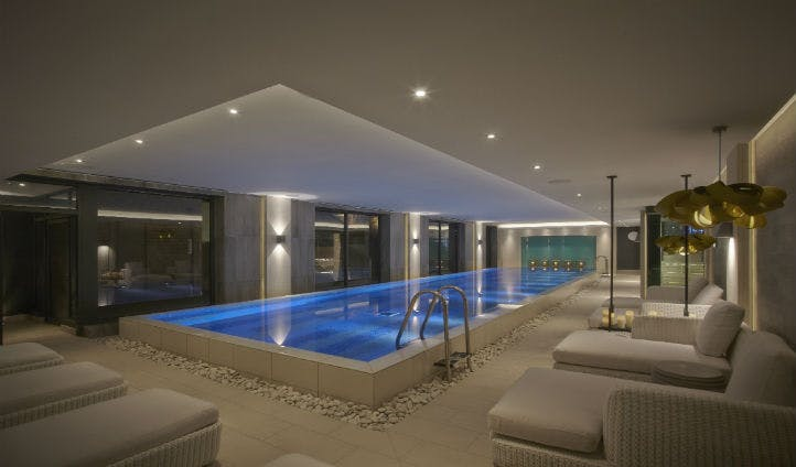 The Infinity Pool at Dormy House Spa