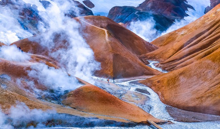 Kerlingafjoll, Iceland