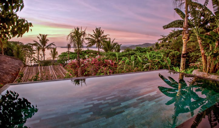 Pool views at Nihiwatu