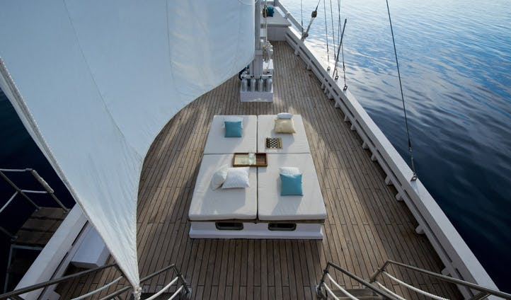 The deck of the Alexa