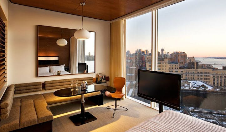 King room at the Standard NYC