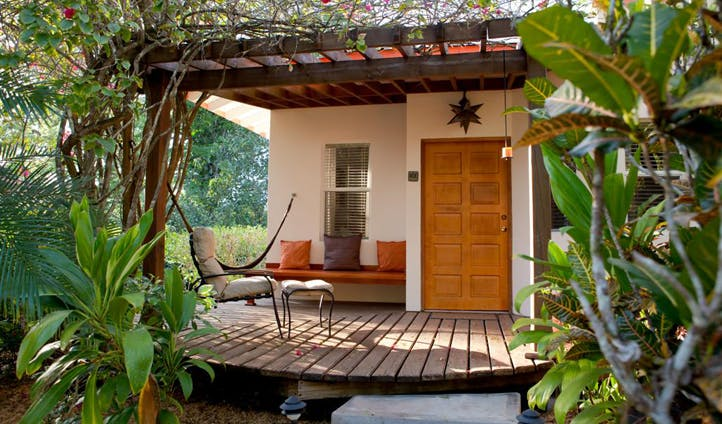Your secluded terrace in Belize