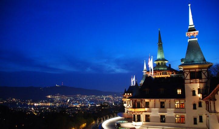 View over Zurich from Dolder Grand | Black Tomato