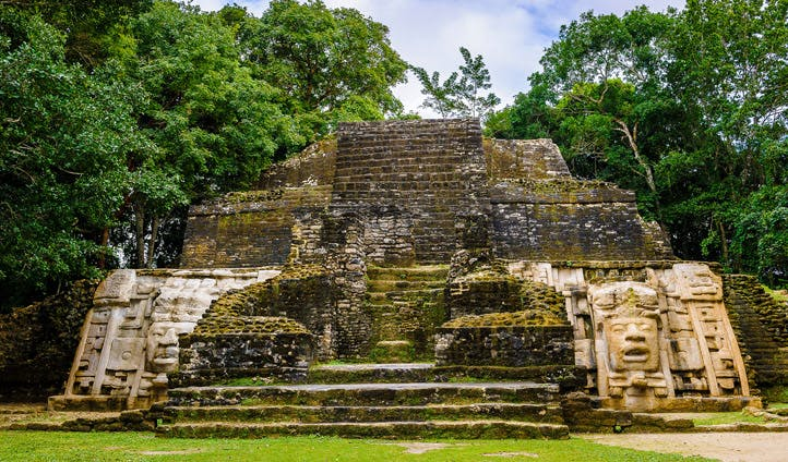 Stunning ancient Mayan ruins in Belize