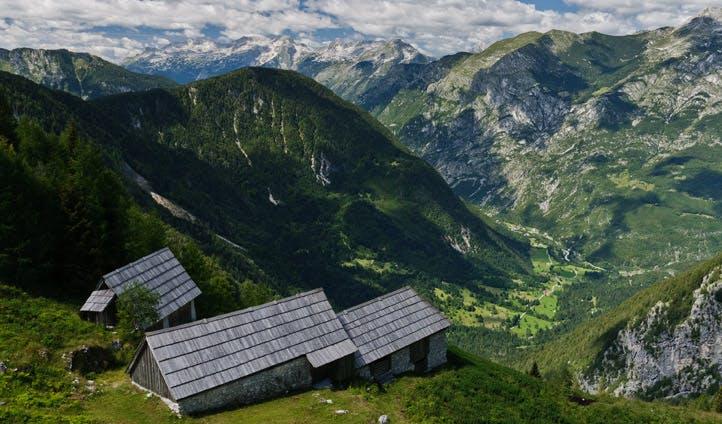 Mountain views in Slovenia