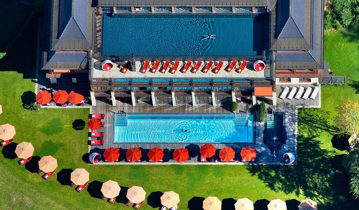 Schloss Elmau hotel spa in Germany