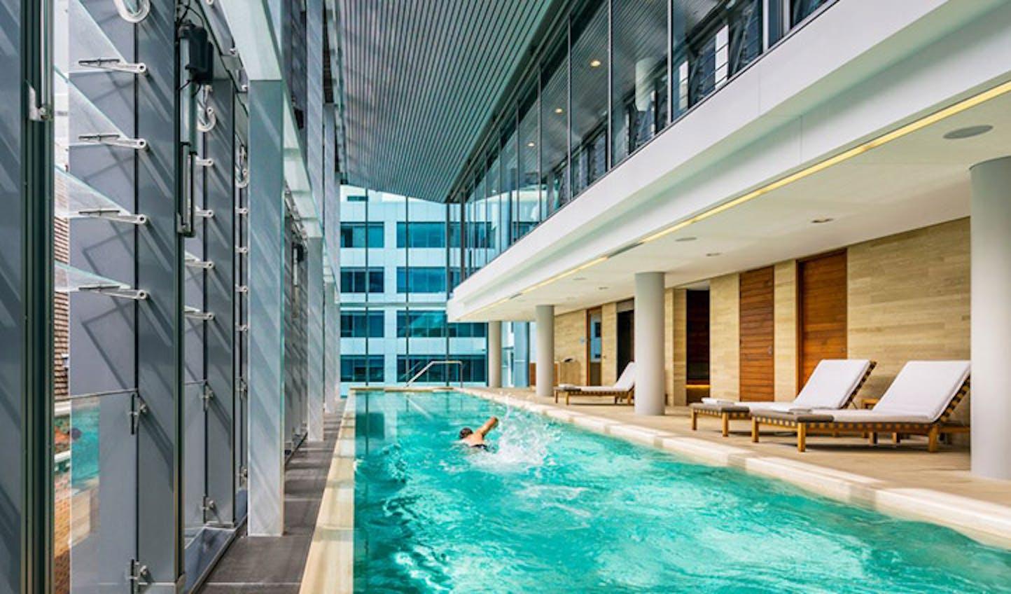 Swim in the pool of The Treasury