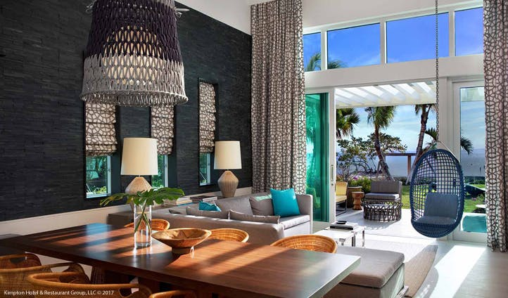 Kimpton Seafire beach bungalow, Cayman Islands