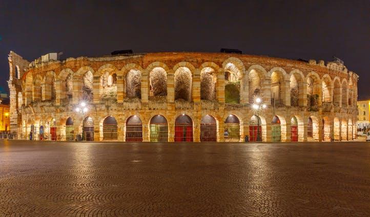 The Arena di Verona, Italy