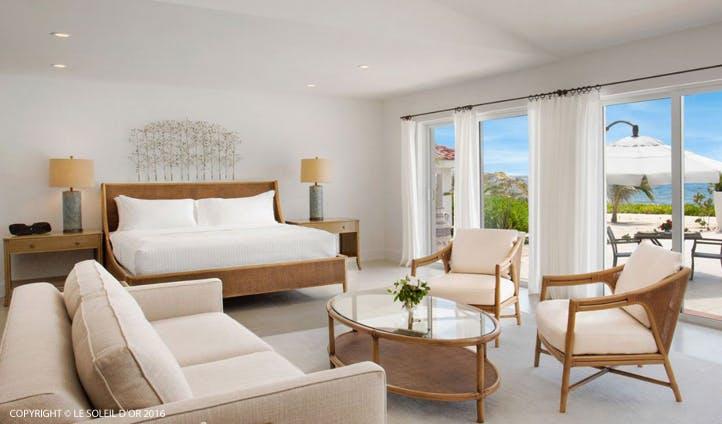 Le Soleil d'Or Bedroom, Cayman Brac