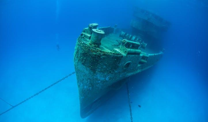Underwater adventures in the Cayman Islands