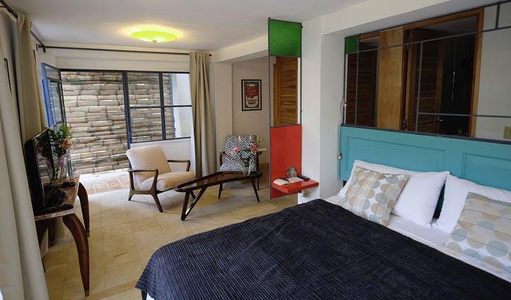 Colourful suite
