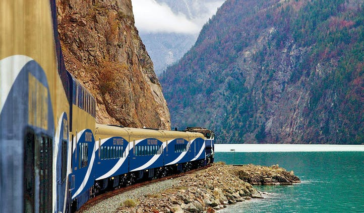 The Rocky Mountaineer in Canada