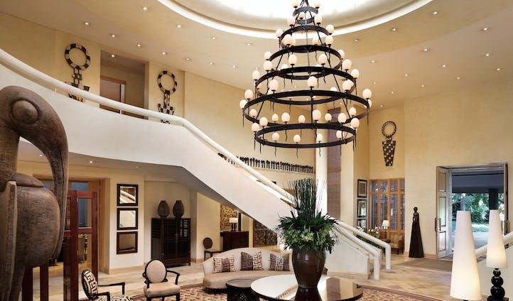 The grand lobby