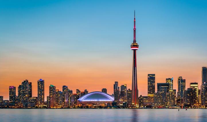 Toronto's skyline, Canada
