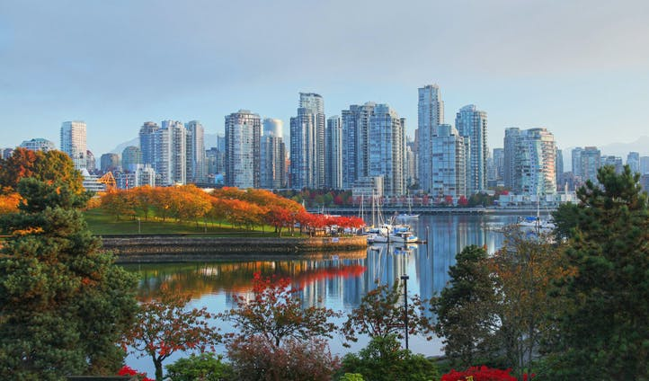 Natural beauty meets city life in Vancouver, Canada