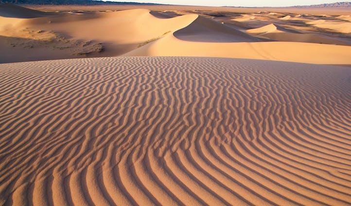 Nomadic life in Mongolia Gobi Desert