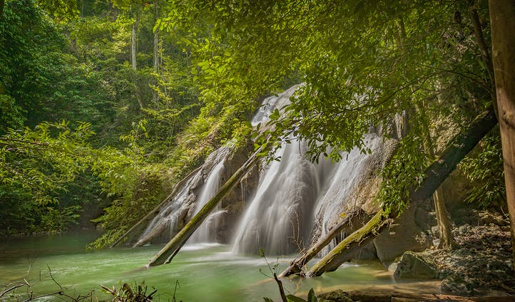 Batanta Island Waterfall