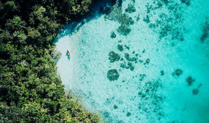 Kayaking Kabui Bay Raja Ampat